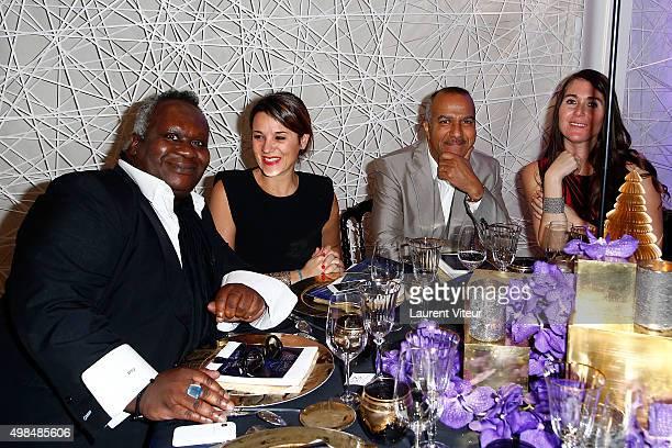 Magloire, guest, Pascal Legitimus and his wife Adriana Santini attend 20th edition of ' Les Sapins de Noel des Createurs' - Designer's Christmas...