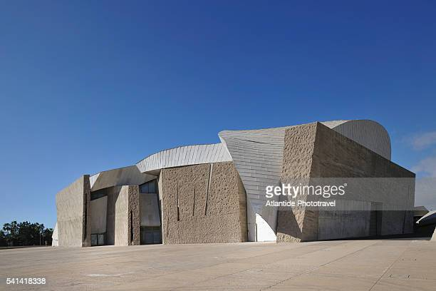magma art and congress center on tenerife - performing arts center stock pictures, royalty-free photos & images