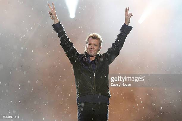 Magne Furuholmen of Aha performs during day 7 of Rock in Rio on September 27 2015 in Rio de Janeiro Brazil