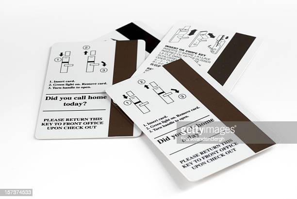 magnet hotel keys - hotel key stock photos and pictures
