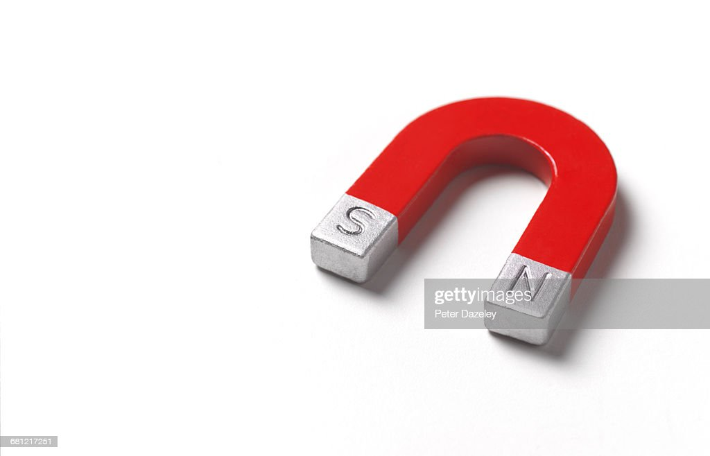Magnet with copy space : Stock Photo