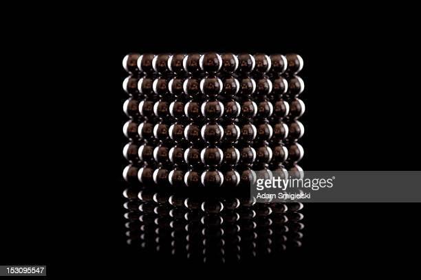 magnetic balls - cube
