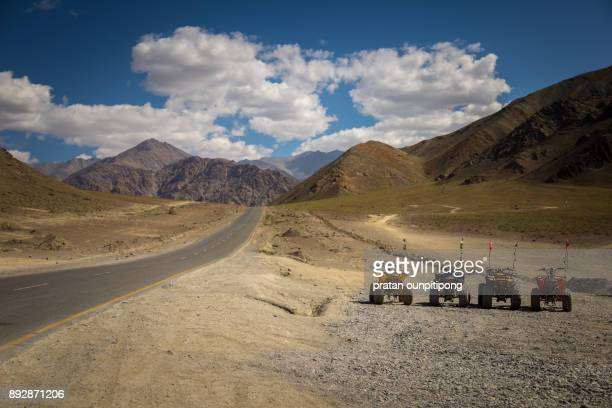 Magnetic hill of Ladakh