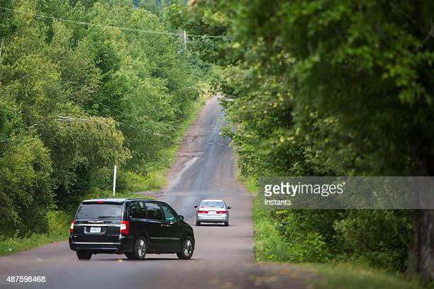 magnetic hill - moncton stock photos and pictures