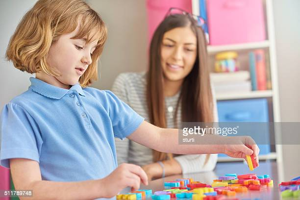 magnetic numbers and letters class