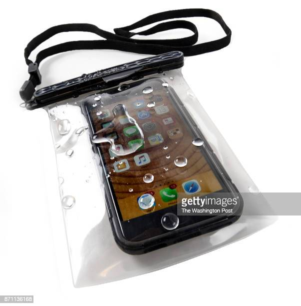 Magnetic waterproof phone pouch from Lewis N Clark one of the items for the Post's annual gift guide on October 2017 in Washington DC