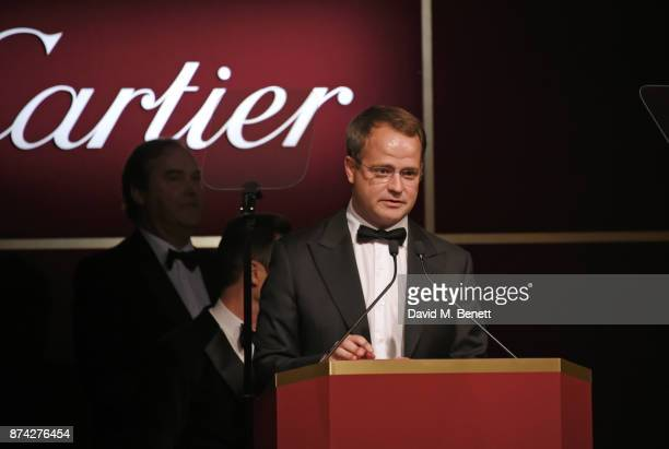 Magnier attends The Cartier Racing Awards 2017 at The Dorchester on November 14 2017 in London England