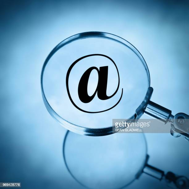 Magnify email symbol