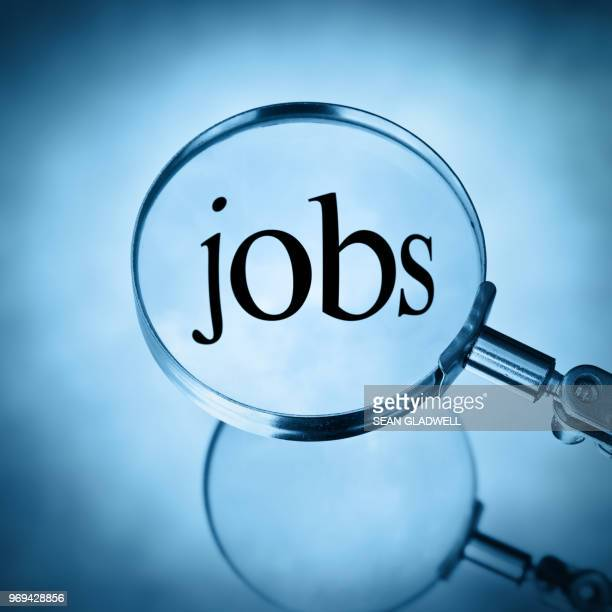magnify jobs - job search stock pictures, royalty-free photos & images