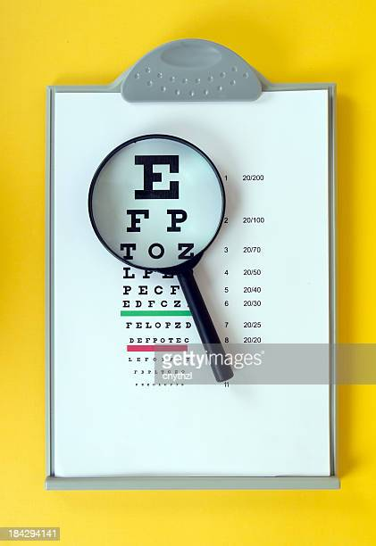 Magnifying and Eye Chart