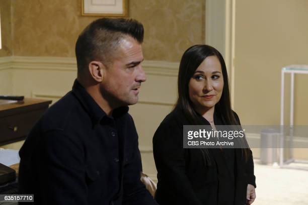 Magnifying Glass Coverage of the CBS series MACGYVER scheduled to air on the CBS Television Network Pictured George Eads Meredith Eaton
