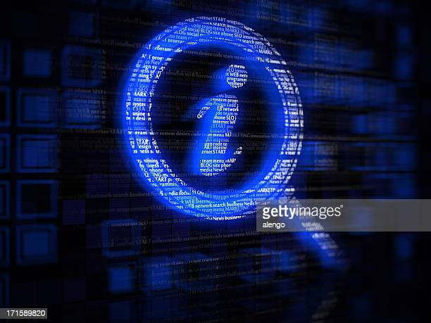 magnifying glass - information symbol stock pictures, royalty-free photos & images