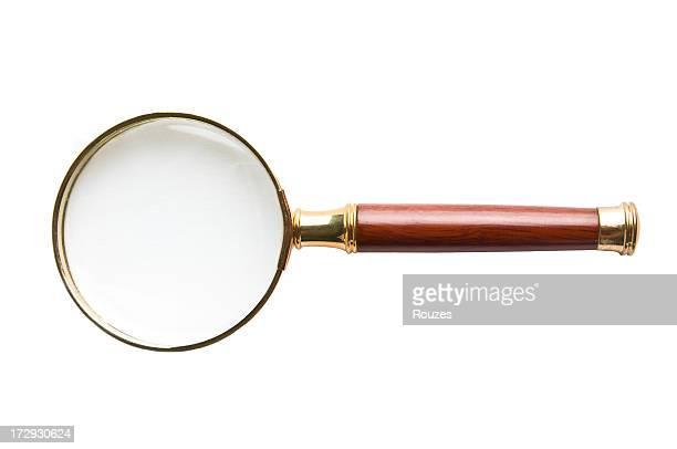 magnifying glass (拡大鏡) - 虫メガネ ストックフォトと画像