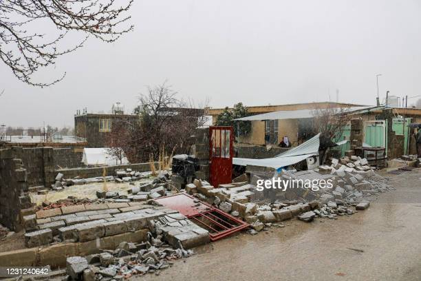 Magnitude earthquake rocked southwestern Iran late on February 17, injuring more than 30 people and causing widespread damage in mountain villages,...