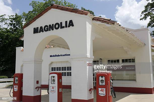Magnolia 1957 Mobil Gas Station