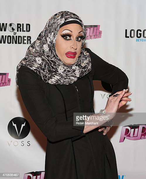 Magnolia Crawford attends RuPaul's Drag Race Season 6 Party at Stage 48 on February 19 2014 in New York City