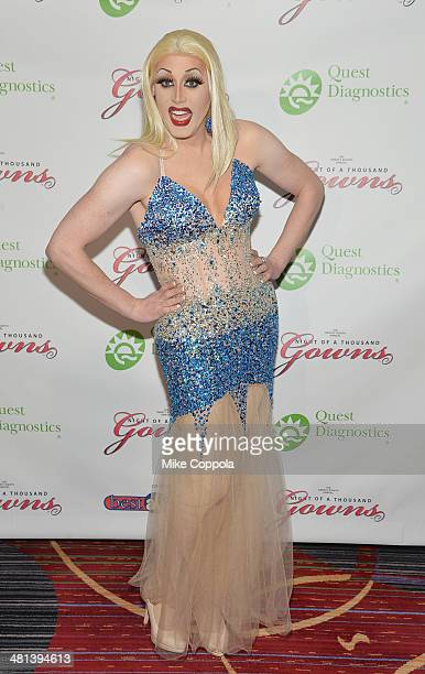 Magnolia Crawford attends the 28th annual Night of a Thousand Gowns at the Marriott Marquis Times Square on March 29 2014 in New York City