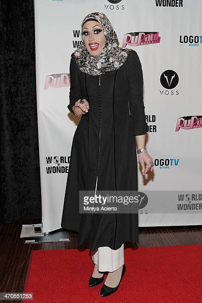 Magnolia Crawford attends the RuPaul's Drag Race Season 6 party at Stage 48 on February 19 2014 in New York City