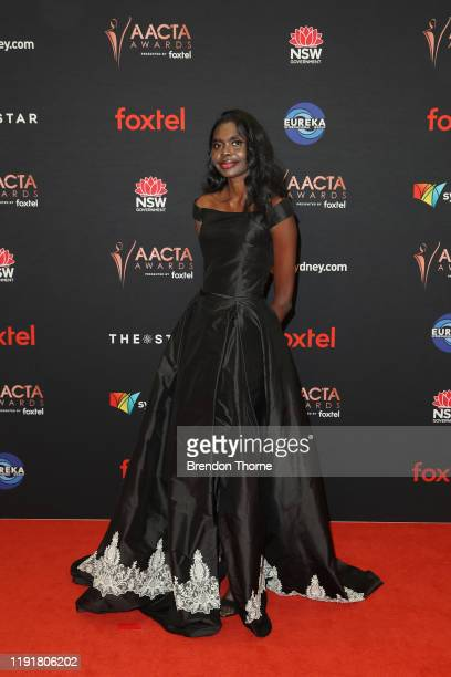Magnolia Maymuru attends the 2019 AACTA Awards Presented by Foxtel at The Star on December 04 2019 in Sydney Australia