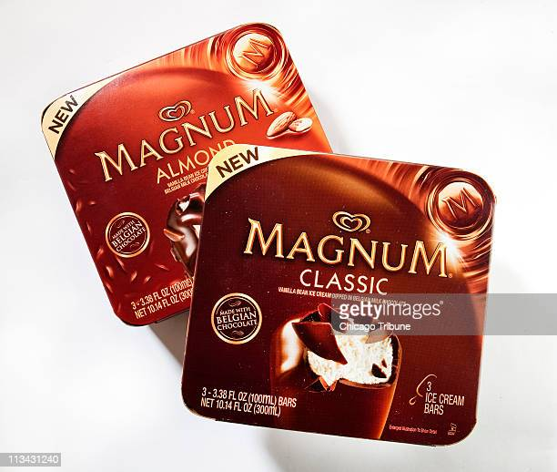 Magnum bars popular for 20plus years the world over boast Belgian chocolate coats and six options from Magnum Classic to a yummy Magnum Double Caramel