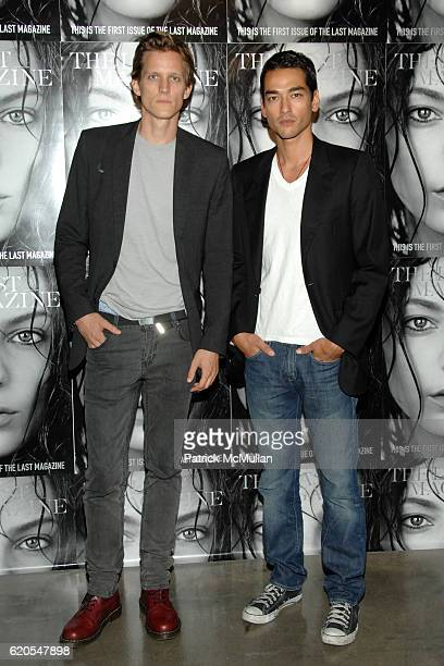 Magnus Berger and Tenzin Wild attend The LAST MAGAZINE Launch and MILK'S 10th Anniversary at Milk Gallery on September 11 2008 in New York City