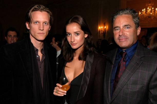 Magnus Berger Rekha Luther and Campion Platt attend Launch of Rosenthal Concept Store at The Shops at The Plaza at Plaza Terrace Foyer on October 14..