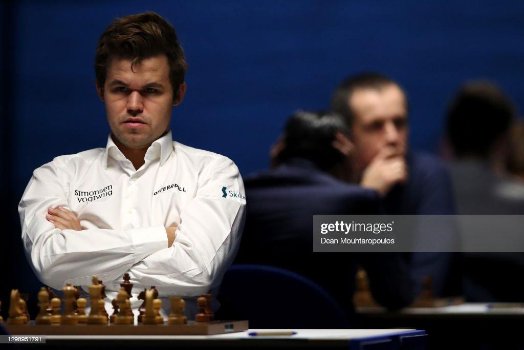 Tata Steel Chess Tournament 2021 : News Photo