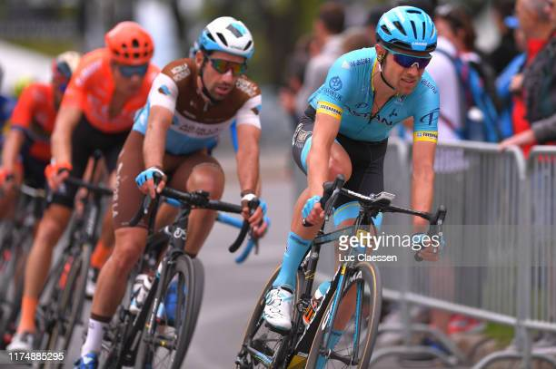 Magnus Cort Nielsen of Denmark and Astana Pro Team / during the 10th Grand Prix Cycliste de Montreal 2019 a 2196km race from Montreal to Montreal /...