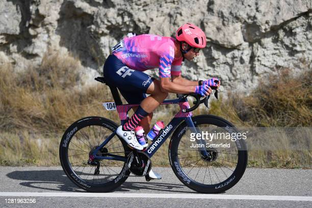 Magnus Cort Nielsen of Denmark and Team EF Pro Cycling / during the 75th Tour of Spain 2020, Stage 5 a 184,4km Huesca to Sabiñánigo 835m / @lavuelta...