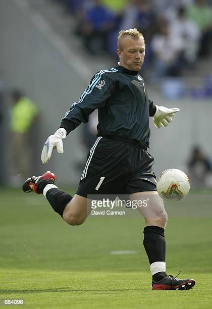 Magnus Hedman of Sweden in action during the first half of the Sweden v Nigeria, Group F, World Cup Group Stage match played at the Kobe Wing...