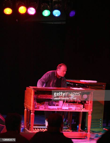 Billy Martin and John Medeski during Bonnaroo 2007 - Day 1 - Mago: Billy Martin and John Medeski at Somethin' Else in Manchester, Tennessee, United...