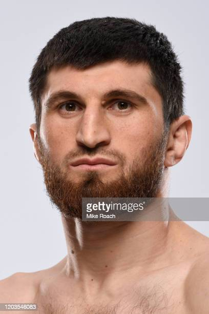 Magomed Ankalaev of Russia poses for a portrait during a UFC photo session on February 26 2020 in Norfolk Virginia