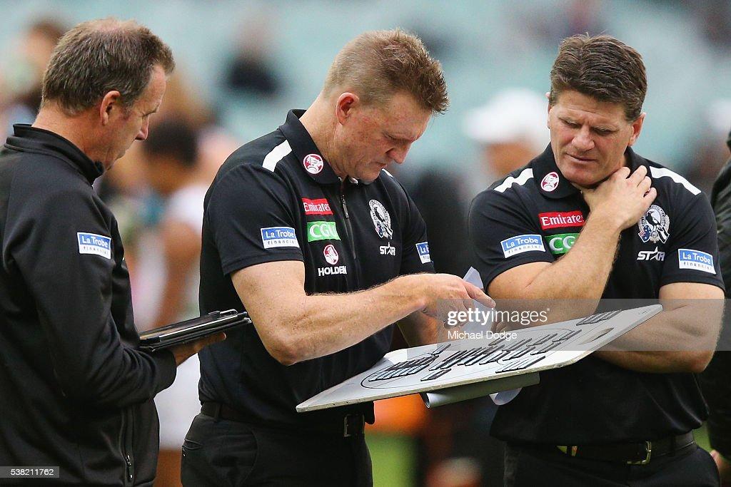 AFL Rd 11 - Collingwood v Port Adelaide