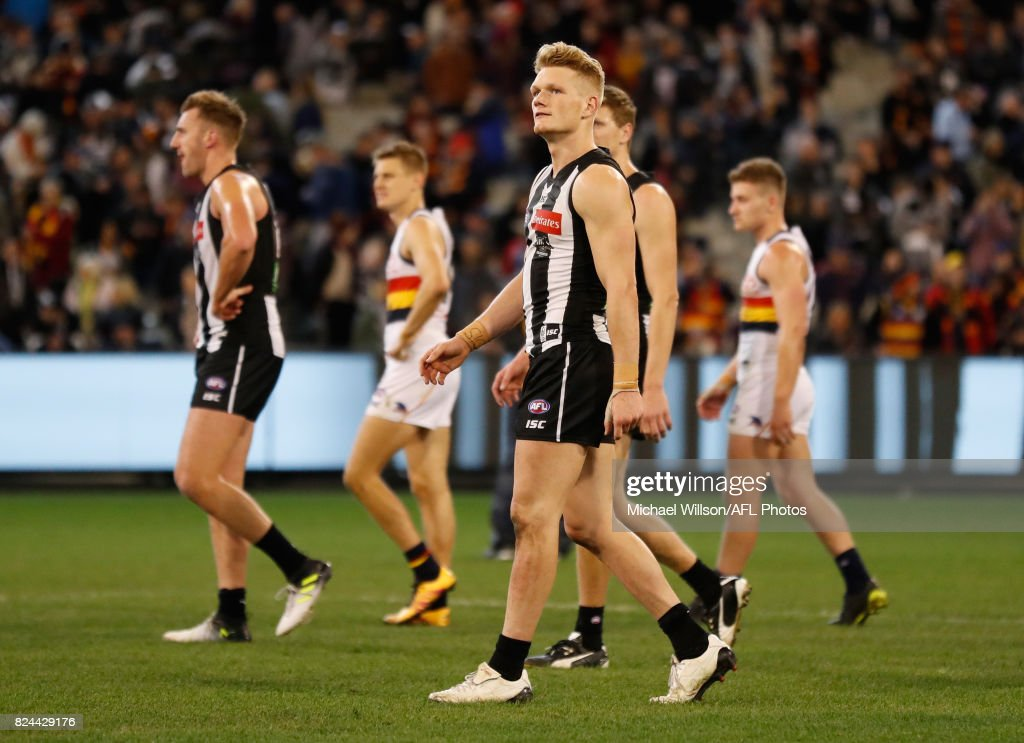 AFL Rd 19 - Collingwood v Adelaide : News Photo