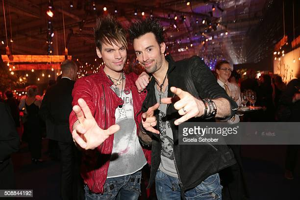 Magus Christian Ehrlich and his brother Andreas Ehrlich the Ehrlich Brothers during the after show party of the Goldene Kamera 2016 on February 6...