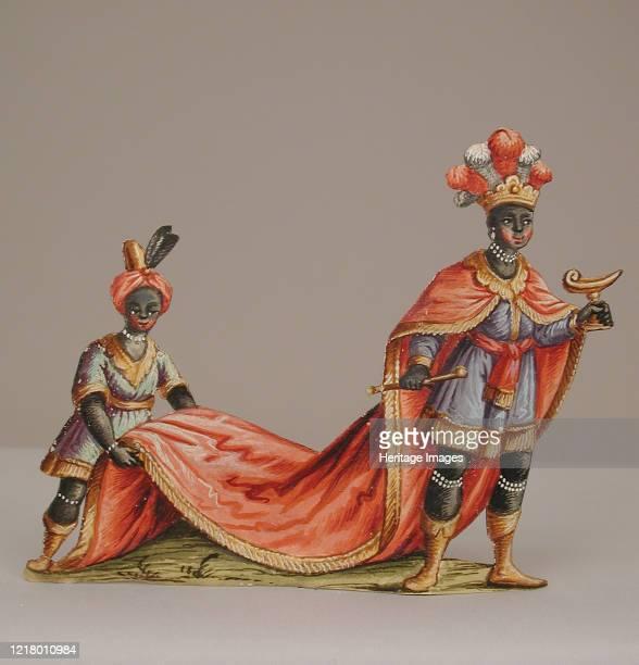 Magus with Moorish Attendant, 18th century. Artist Unknown.