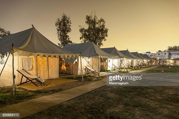 Maha Kumbh Mela, Lakshimi Kutir luxury camp