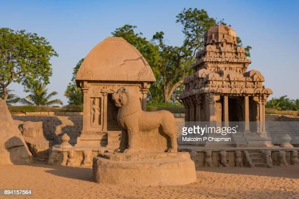 Mahabalipuram - Panch Ratha Temple (Five Rathas) In Mamallapuram, Chennai, Tamil Nadu, India