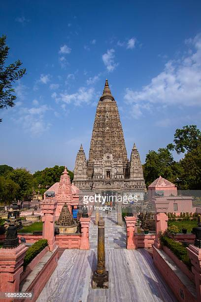 Mahabodhi Temple main entrance, Bodhgaya, India