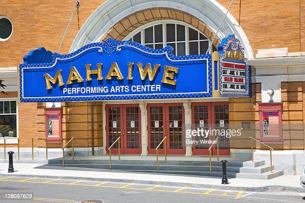 mahaiwe performing arts center, great barrington, the berkshires, massachusetts - performing arts center stock pictures, royalty-free photos & images
