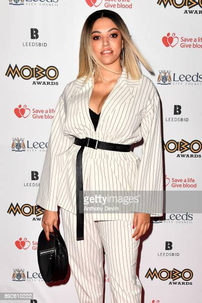 Mahalia attends the MOBO Awards at First Direct Arena Leeds on November 29 2017 in Leeds England