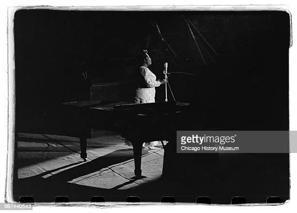 Mahalia Jackson performing Charlotte North Carolina November 21 1961