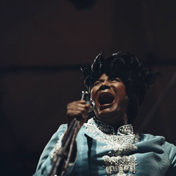 Mahalia Jackson , U.S. singer and civil rights activist,...
