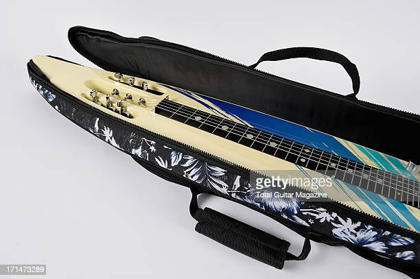 A Mahalo MLG1 Lap Steel electric guitar photographed during a studio shoot for Total Guitar Magazine/Future via Getty Images September 19 2012