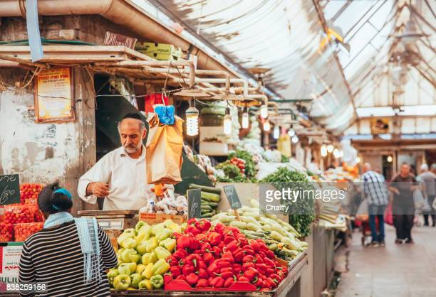 mahane yehuda market - israeli ethnicity stock pictures, royalty-free photos & images