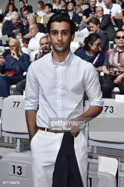 Maharaja Padmanabh Singh attends the Giorgio Armani show during Milan Men's Fashion Week Spring/Summer 2019 on June 18 2018 in Milan Italy