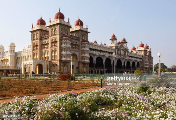 maharaja palace, mysore palace, mysore, karnataka, south india, india, south asia - maharaja stock pictures, royalty-free photos & images