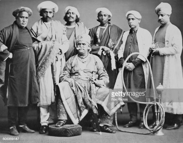 Maharaja Sir Ishwari Prasad Narayan Singh circa 1880