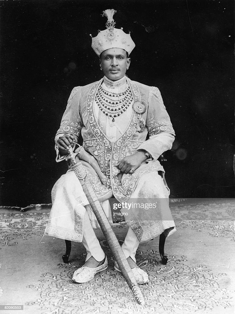 Maharajah of Alvar, Photograph, 27th June, 1929 : News Photo