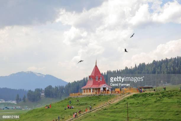 Maharani Moslem Temple in Gulmarg, Kashmir.
